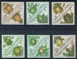Gabon, Fruits, Postage Due, 1962, MNH VF complete Set Of 12 - Gabon