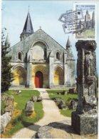 CM: St-JACQUES DE COMPOSTELLE : EGLISE SAINT-PIERRE De La TOUR à AULNAY : 1er Jour 22.02.2013 (neuve) - Cartas Máxima