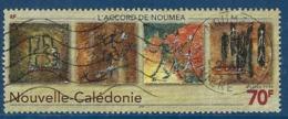 """Nle-Caledonie YT 805 """" L'accord De Nouméa """" 1999 Oblitéré - Usati"""