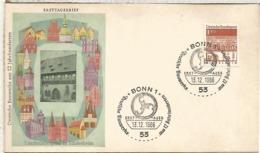 ALEMANIA FDC BONN ARQUITECTURA HILDESHEIM - Monumentos