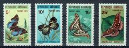Gabon, Butterflies, 1971, MNH VF complete Set Of 4 - Gabon (1960-...)