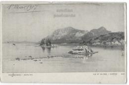 GREECE GRECE CORFU KERKYRA PONTIKONISI 1910s Vintage Postcard CORFOU - Aspiotis - Greece