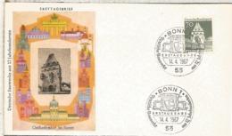 ALEMANIA FDC BONN ARQUITECTURA SOEST - Monumentos