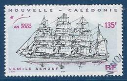 """Nle-Caledonie YT 813 """" Voilier """" 2000 Oblitéré - Neukaledonien"""