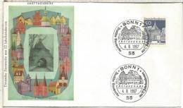 ALEMANIA FDC BONN ARQUITECTURA ELLWANGEN - Monumentos