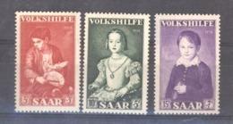 Sarre  :  Yv  334-36  ** - 1947-56 Protectorate