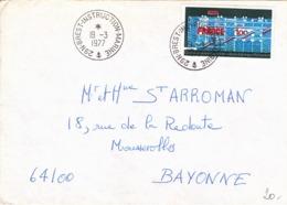 Env Cachet Spécial Brest Instruction Marine 19/03/77 ⚓ - Cachets Manuels