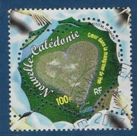 """Nle-Caledonie YT 818 """" Coeur """" 2000 Oblitéré - Neukaledonien"""