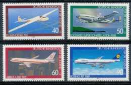 [74053]TB//**/Mnh-N° 888/91, Surtaxe Pour La Jeunesse, L'aviation, Série Complète. - [7] République Fédérale