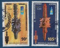 """Nle-Caledonie YT 823 & 824 """" Musée """" 2000 Oblitéré - Neukaledonien"""