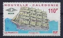 """Nle-Caledonie YT 839 """" Grand Voilier """" 2001 Oblitéré - Neukaledonien"""