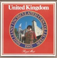 Regno Unito - Brillant Uncirculated Coin Collection - 1985 - Mint Sets & Proof Sets