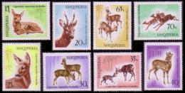 Albania Roe Deer 8v MNH SG#1129-1136 MI#1169-1176 SC#1043-1050 CV£10+ - Albania