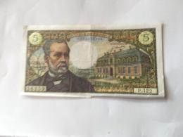 5 Franc 08.01.1970 - 5 F 1966-1970 ''Pasteur''