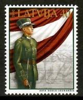 Latvia 2002 Letonia / Military Soldier Flag MNH Soldado Bandera Flagge Soldat / Cu13228  1-43 - Militares