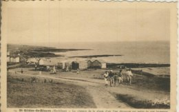 St. Gildas De Rhuys V. 1946 Fischerhütten Am Strand  (57799) - Frankreich