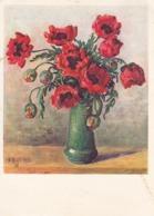 AK Mohn Pavot - Künstlerkarte Niggli Gret - Pro Infirmis - 1938 (44106) - Blumen