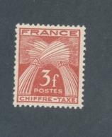 FRANCE - TAXE N°YT 73 NEUF** SANS CHARNIERE - COTE YT : 0€50 - 1943/46 - Taxes