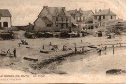 Le  Bourg  De  Batz -   La  Plage. - Batz-sur-Mer (Bourg De B.)