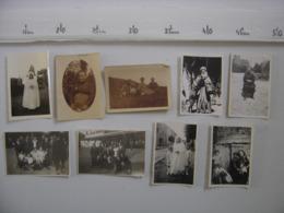 LOT 2 Photos HOMME FEMME PORTRAIT PAYSAGE FAMILLE ANIMAUX Circa Annees 1940 - Photos