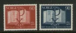 NORVEGIA - 150° Anniversario Norwegian Bible Society - Norvegia