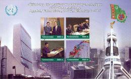 Turkmenistan 2007, Conference, 1st Edition, Block - Turkmenistán