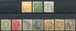 Portugal - 1885/1905 - Lot Timbres Effigie Charles 1er - Oblitérés - Nºs Dans Description - - Usado