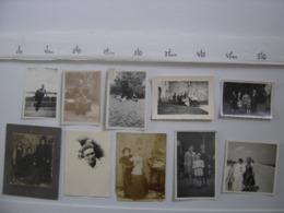 LOT Photos HOMME FEMME PORTRAIT PAYSAGE FAMILLE CHASSE Circa Annees 1940 - Photos