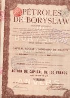 PETROLES DE BORYSLAW ANVERS ANTWERPEN - Oil