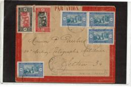 LCTN57/5 -  SENEGAL LETTRE AVION POUR SECTEUR POSTAL 34 NOVEMBRE 1926 - Senegal (1887-1944)