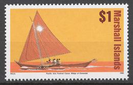 Marshall Islands 1993 Mi# 466** DEFINITIVE, SAILING VESSEL - Marshall Islands