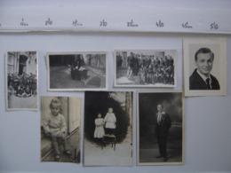 LOT Photos HOMME FEMME PORTRAIT PAYSAGE FAMILLE ENFANTS Circa Annees 1940 - Photos