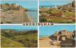 SHERINGHAM, NORFOLK MULTIVIEW. LEAS GARDENS, PRETTY CORNER. UNPOSTED - Angleterre