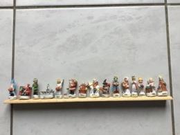 Rare Série Complète 15 Fèves Mates LE NOEL DE L'EUROPE Arguydal 2002 - Länder