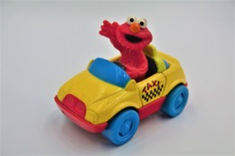 Matchbox Character TYCO SESAMI STREET: ELMO IN A TAXI , Issued 1997 - Matchbox