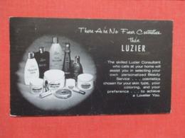 Luzier Cosmetics-- Kansas City Mo. ------ref 3664 - Werbepostkarten