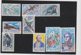 TAAF Année 1976 Complète 9 T Neufs Xx N°YT 55 à 63 - Tierras Australes Y Antárticas Francesas (TAAF)