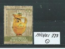 MAZEDONIEN MICHEL 723 Gestempelt Siehe Scan - Mazedonien