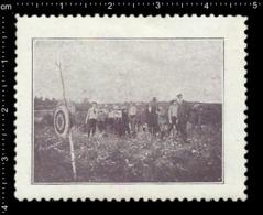 German Poster Stamp Cinderella Reklamemarke Vignette, Jamboree Scout Pfadfinder Archery. - Vignetten (Erinnophilie)