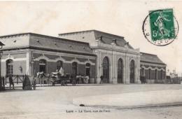CP 70 Haute-Saône Lure Gare Vue De Face - France