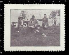 German Poster Stamp Cinderella Reklamemarke Vignette, Jamboree Scout Pfadfinder Music Fife. - Vignetten (Erinnophilie)