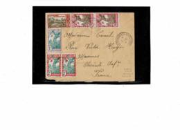 LCTN57/5 -  GUYANE FR.SE LETTRE OCTOBRE 1937 - Guyane Française (1886-1949)