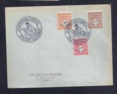 Enveloppe Locale Journee Du Timbre 1946 Chalons Sur Marne - France