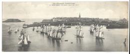SAINT MALO - Vue Générale - Carte Lettre  28 X 11 Cm - Saint Malo