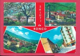 Ronco Scrivia (AL) - Viaggiata - Andere Städte