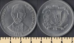 Dominicana 1 Peso 1979 - Dominicaine