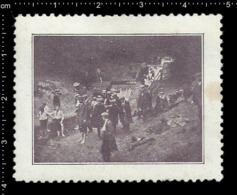 German Poster Stamp Cinderella Reklamemarke Vignette, Jamboree Scout Pfadfinder. - Vignetten (Erinnophilie)