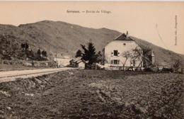 CP 70 Haute-Saône Servance Entrée Du Reuchet - Autres Communes