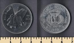 Dominicana 1/2 Peso 1990 - Dominikanische Rep.