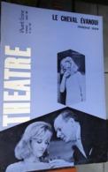 L'avant-scène Théâtre N 382 - Le Cheval évanoui - Françoise Sagan - Auteurs Français